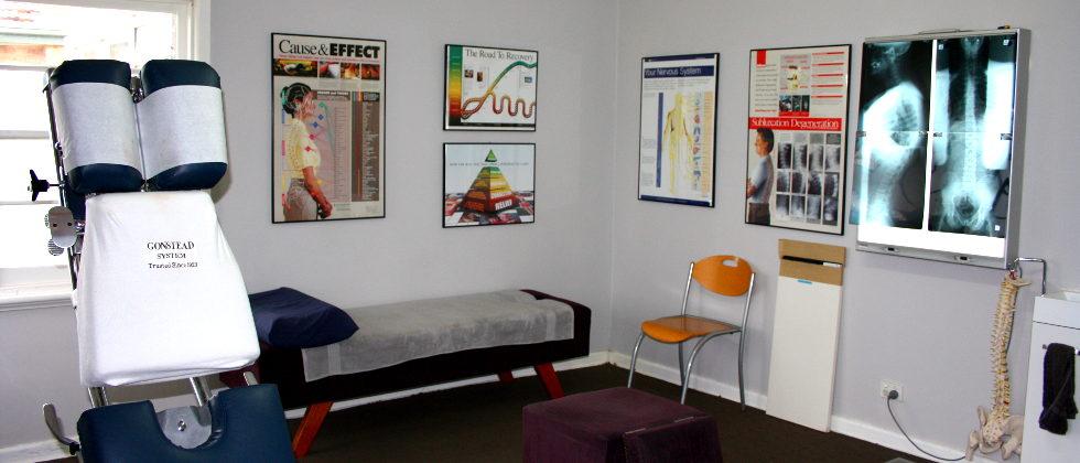 Chiropractor Pascoe Vale Office Patient Room